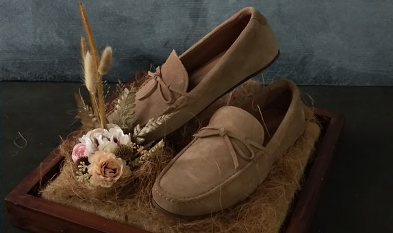 Bingkis Seserahan - Sewa Tray Seserahan Rustic - Dark Brown (Dried & Artificial Flower)