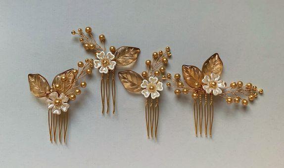 ANITA Gold Hair Pin