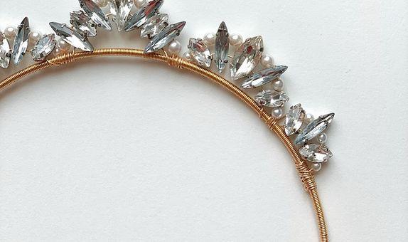 LOLA Silver Gold Tiara