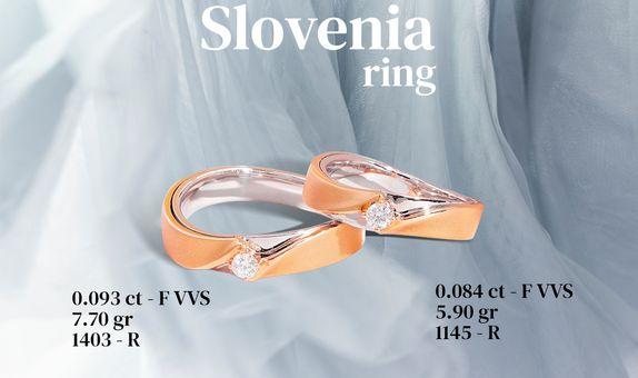 Slovenia Couple RIng