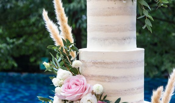 Lareia Cake & Co - Wedding Cake 4 Tier B