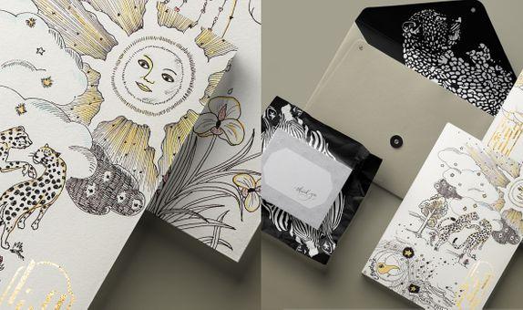 Custom Wedding Invitation - Ling & Jibraan