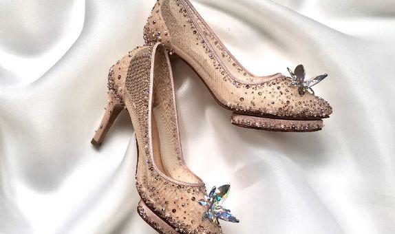 LISTINE - ROSEGOLD - 9cm - Wedding Shoes - Bride Shoes - Party Shoes