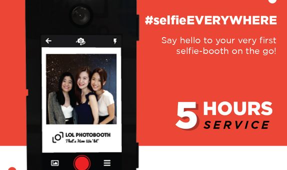 LOLGO (Selfie Mobile Photo booth) - 5 Hours Service