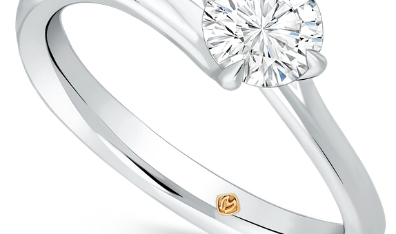 DP CELINA SOLITAIRE COLLECTION LADIES RING