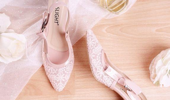 Sepatu Slingback Lacie Pink