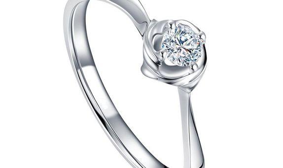 TIARIA Magnolia Diamond Engagement Ring Cincin Tunangan Berlian