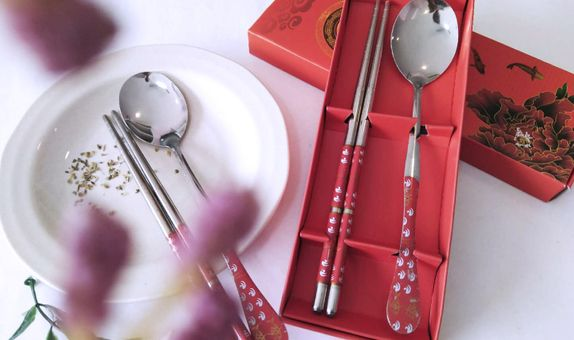 Cutlery Set (Spoon & Chopstick)