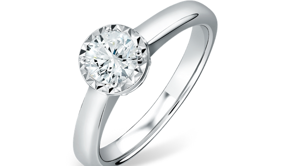 DP TIVONA SOLITAIRE COLLECTION LADIES RING
