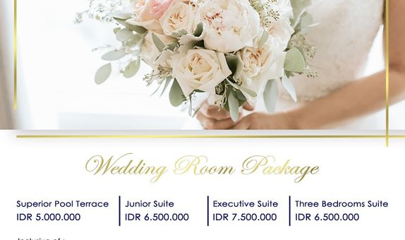 Novotel Wedding Room Package