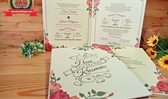 Undangan Pernikahan Model Amplop