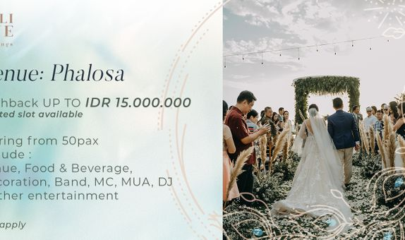 Phalosa Villa Customize Wedding Packages
