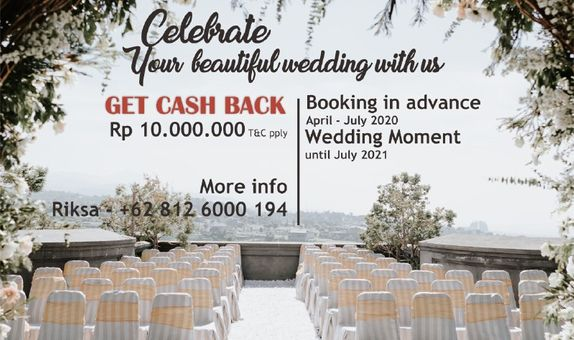 Spesial Cashback Wedding Package