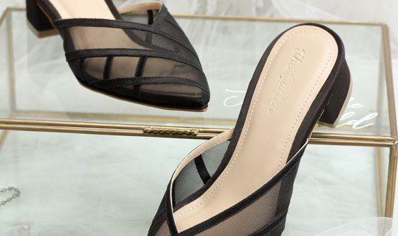 Aria Black Shoes
