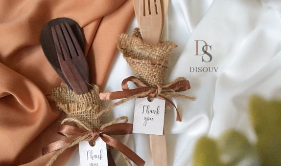 Wooden Cutlery with Goni