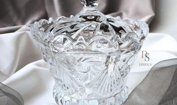 Crystal Jar with Hardbox - E
