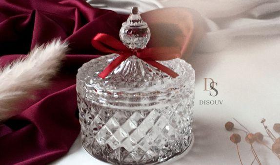 Crystal Jar with Hard Box - A