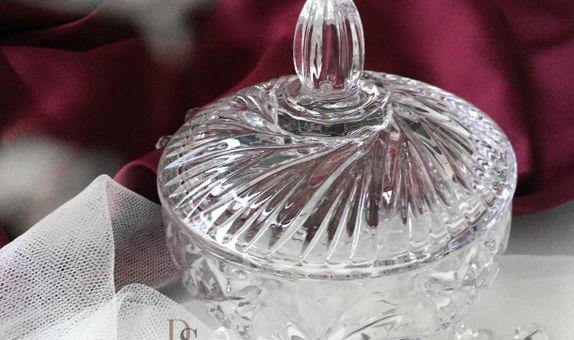 Crystal Jar with Hardbox - C