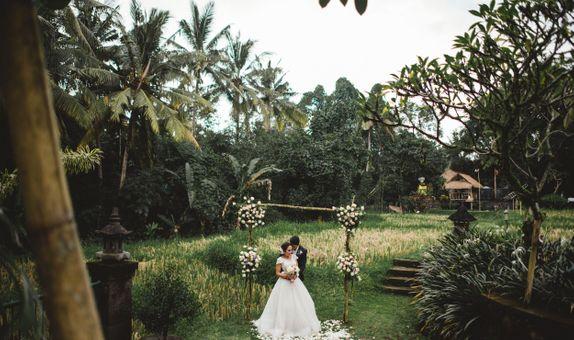 Wedding Reception at Plataran Ubud