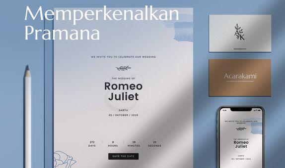 Undangan Online / Undangan Digital / Undangan Website - Desain Pramana