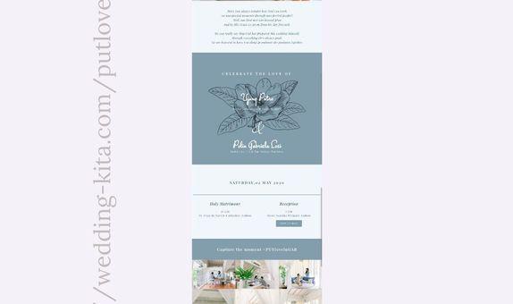 Undangan Digital Website Custom 1
