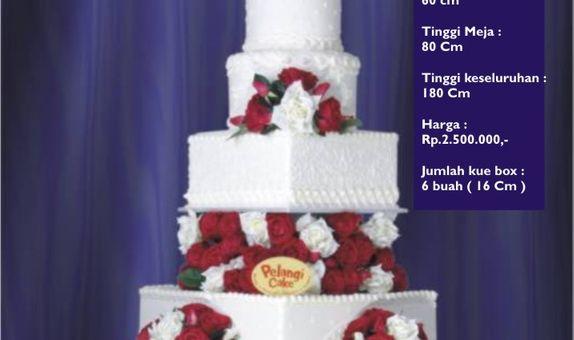 Pelangi Cake Rustic