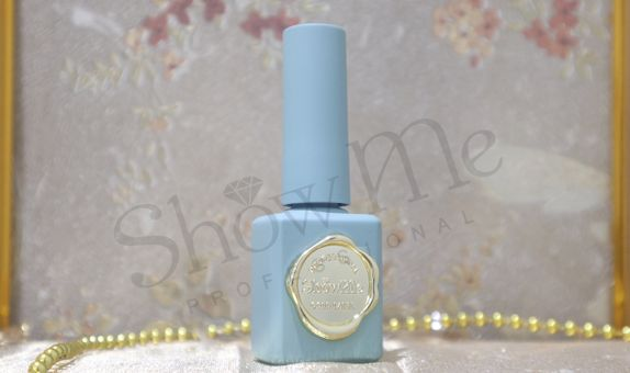Kutek Nail Art Professional Gel Polish Show Me - Blue Powder Retro