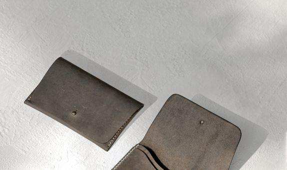 Leather Passport Sleeve