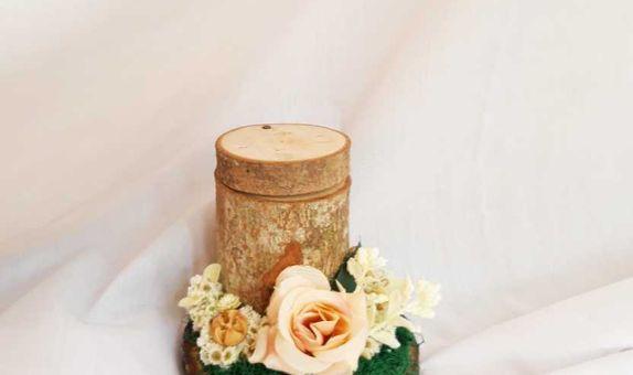 Wood Rustic Ringbox