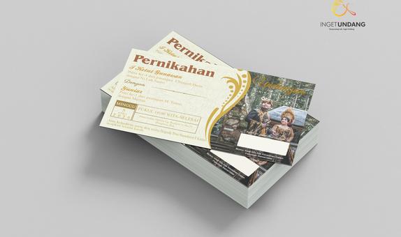 Kartu Undangan (Wedding Card V1)