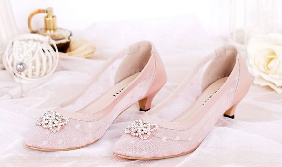 Pointed Heels Sallie Pink