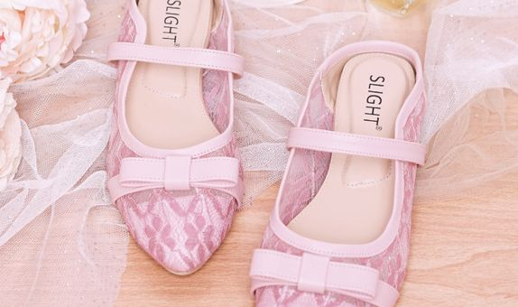 Selop Lace Celia Pink