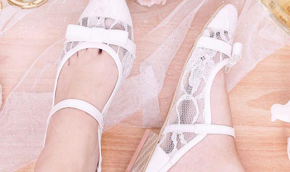 Selop Lace Celia Putih
