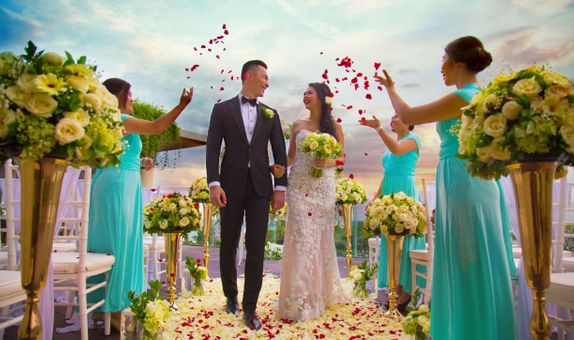 Sheraton Bali Kuta Resort - Rooftop Sky Wedding Package