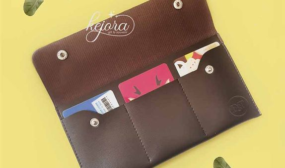 Dompet Travel Kancing