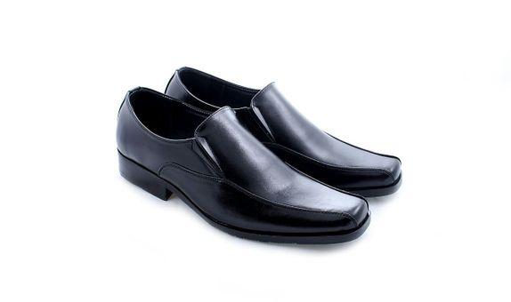 Salvare Shoes - Sepatu Pengantin Pria Loafers - Sepatu Formal Hitam