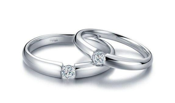 TIARIA Sunshine Diamond Wedding Ring Perhiasan Cincin Nikah Berlian