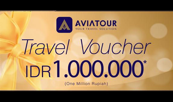 Avia Tour Travel Voucher 1 Juta Rupiah