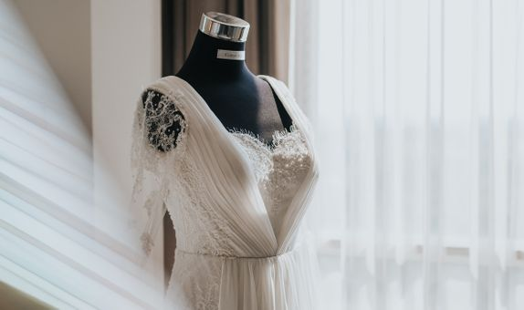 Affinity Package (Custom rent wedding gown + MUA + Photo Video)