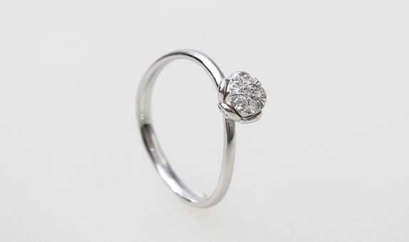 Siorai Leah Ring 4190 730 Cincin Berlian Sz 4 - 15 ( Preorder )