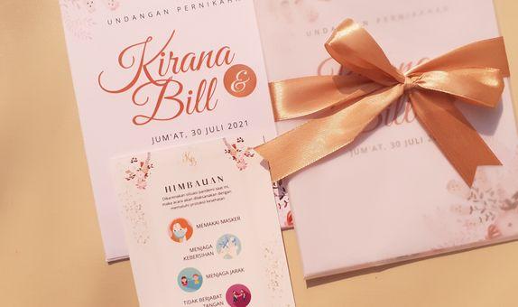 Intimate Wedding Vellum Paper Envelope
