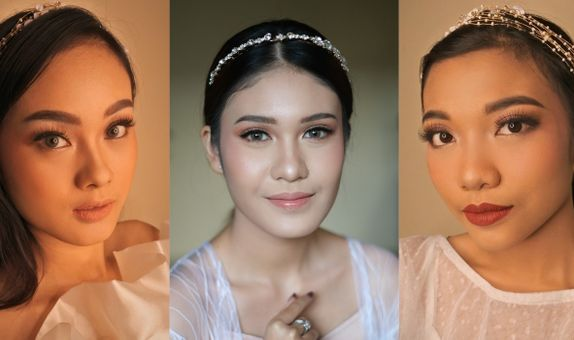 Flawless Bride Makeup Hairdo + Retouch