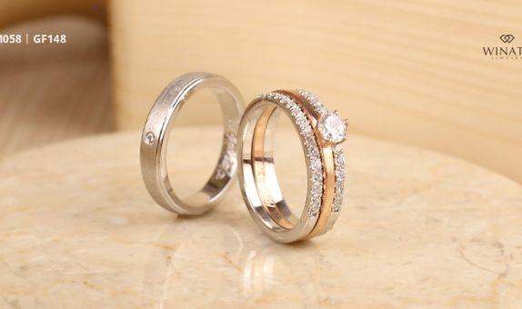 Elaksi Ring Platinum & White Gold