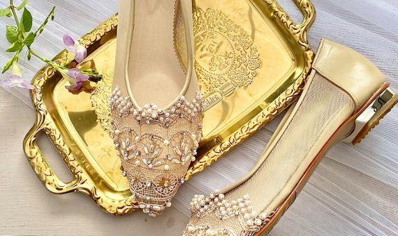 Ellie Nude Flats Wedding Shoes Women Flats 1.5cm