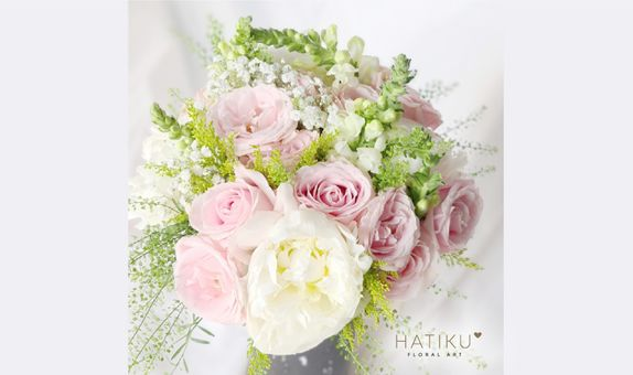 Sweet Shade of Pink Bridal Bouquet