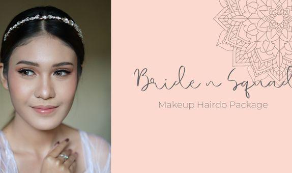 Bride n Squad Makeup Hairdo Package