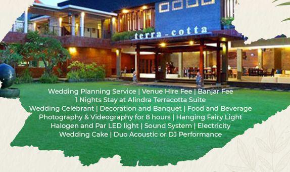 Alindra Villa Wedding Package