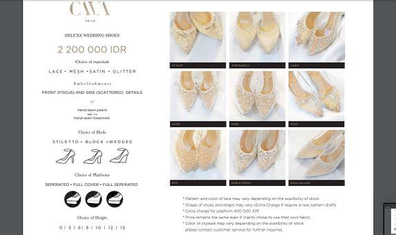 CAVA Privé - Deluxe Category Wedding Shoes