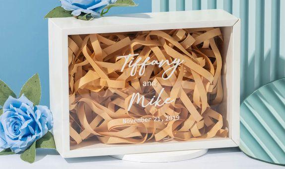 Engraved Wood Gift Box / Kotak Kado Kayu