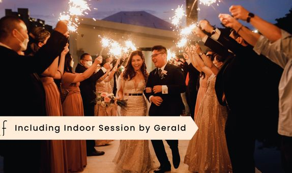 New Normal Wedding Day 12 Hours by Gerald Tanujaya